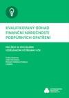 Kvalifikovaný odhad finanční náročnosti podpůrných opatření pro žáky se speciálními vzdělávacími potřebami v ČR