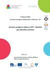 Analýza podpory žáků se SVP - školská poradenská zařízení