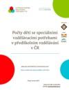 Počty dětí se SVP v předškolním vzdělávání v ČR