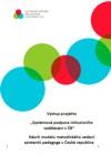 Návrh modelu metodického vedení asistentů pedagoga v České Republice